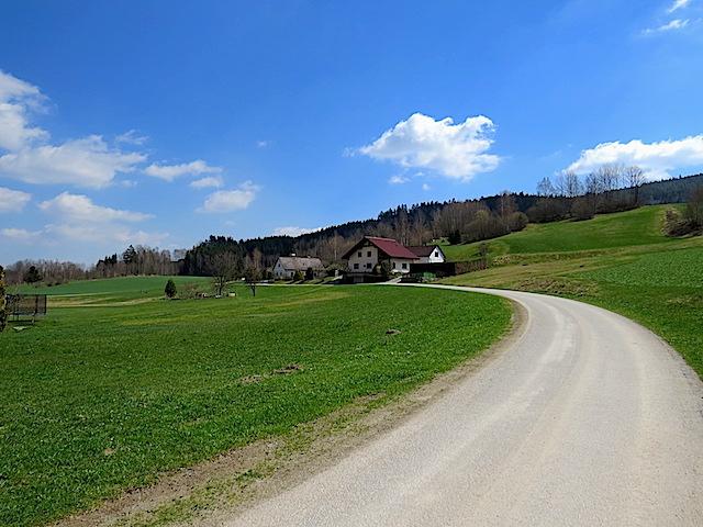 Richtung Bad Großpertholz