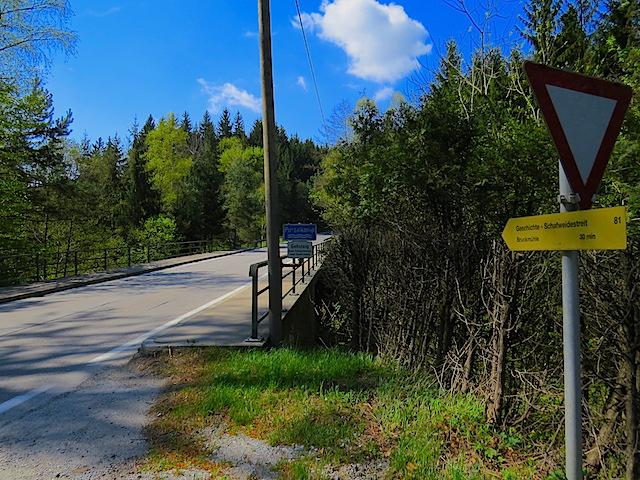 Straßenbrücke Purzelkamp