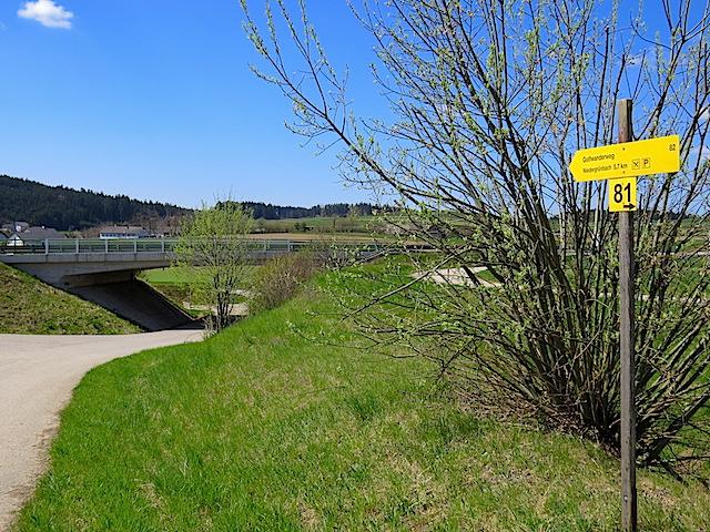 Unterführung Bundesstraße