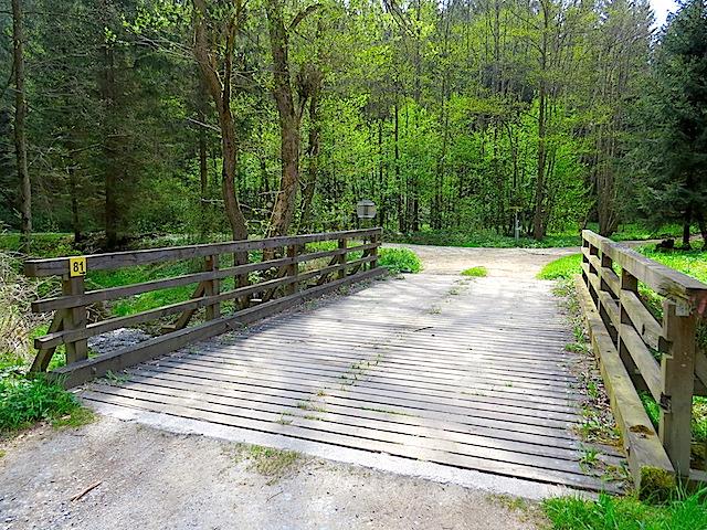 Stegbrücke Dobrabach