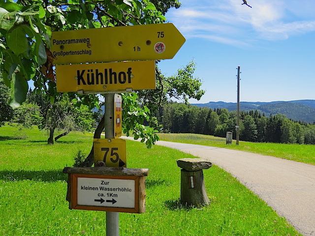 Abzweigung Kühlhof
