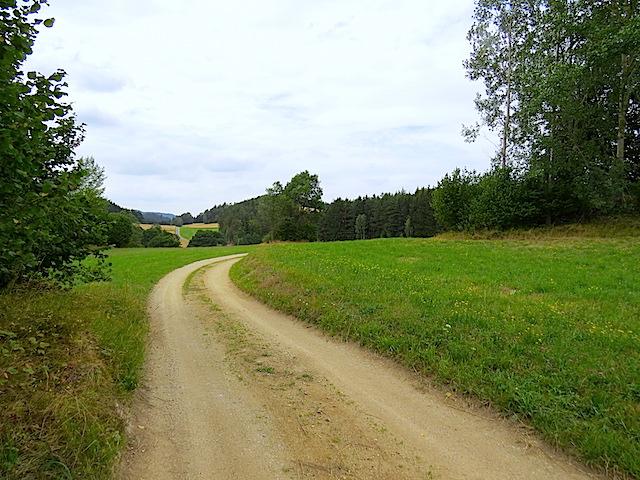 Richtung Anschaumühle