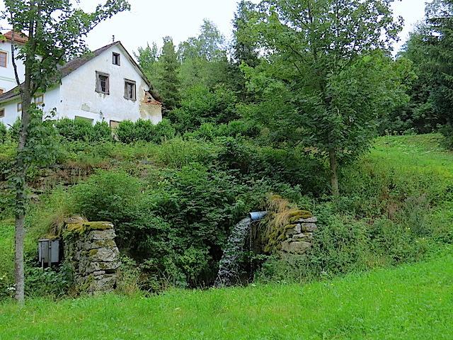Reste der Anschaumühle