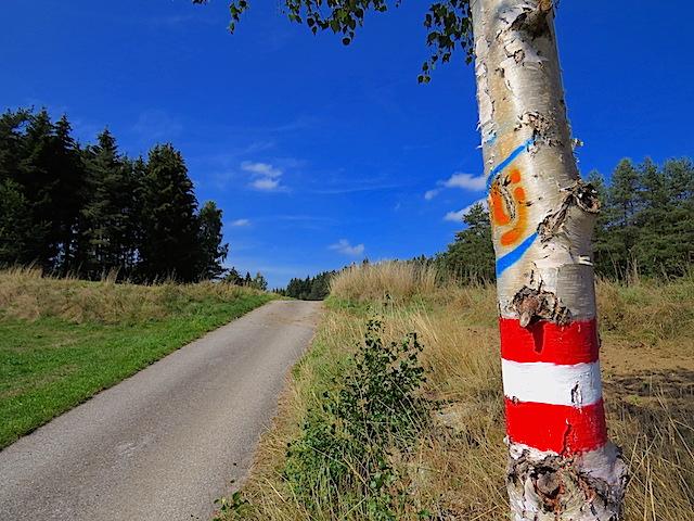 Richtung Oberrabenthan