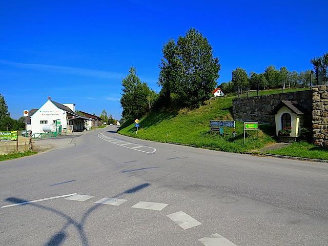 Kreuzung Rappottenstein