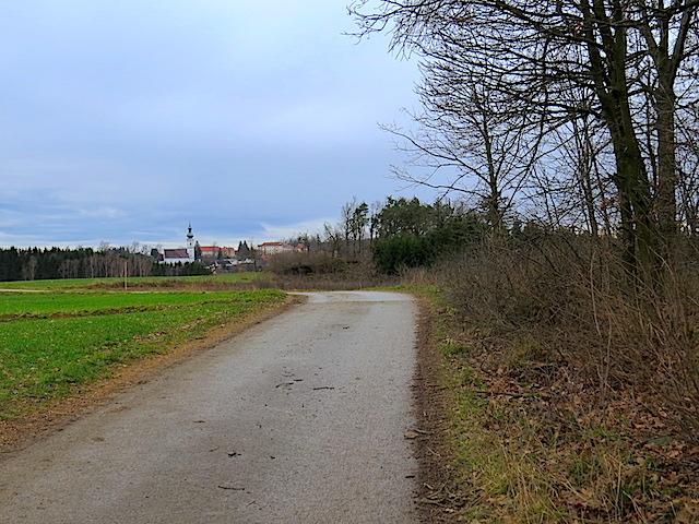 Richtung Kirchberg