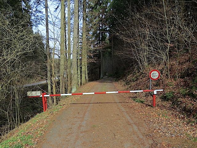 Schranken Privatweg