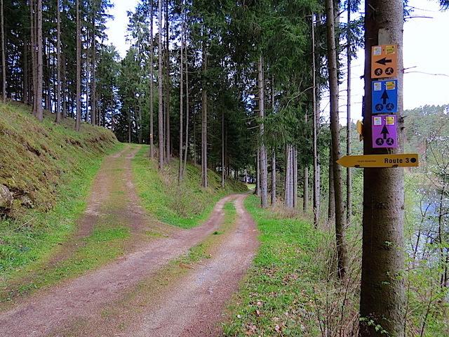 Abzweigung Praderhütte