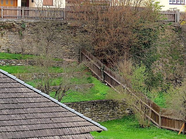 Vorgelagerte Terrassen