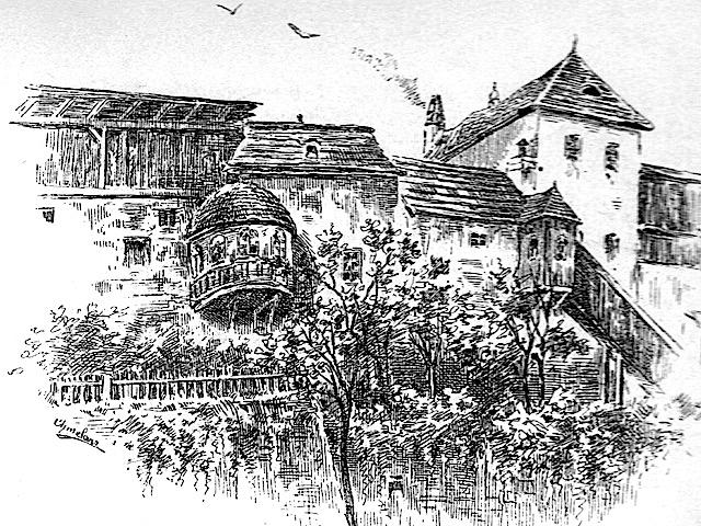 Alte Zeichnung