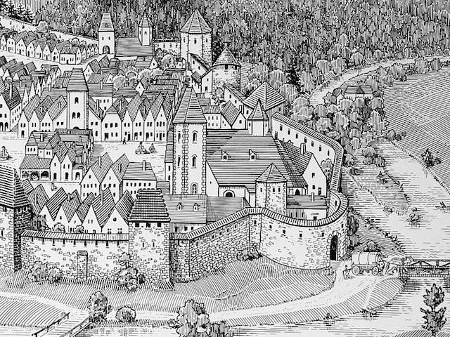 Das Niedere Tor 1860
