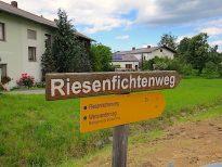 Richtung Purkenhof