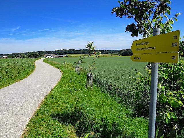 Richtung Neuhof