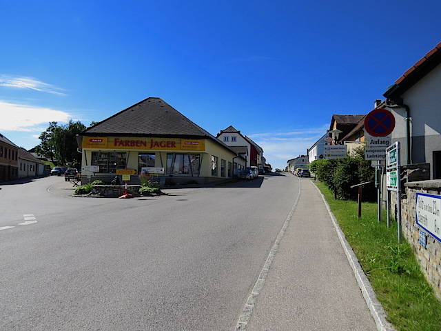 Straßengabelung
