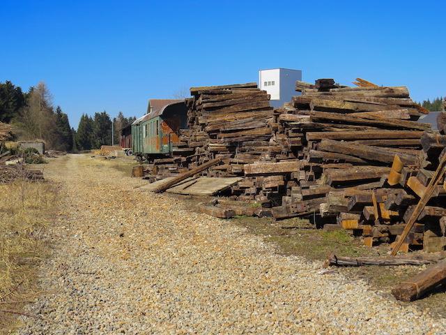 Der Waldviertler Bahnübergang