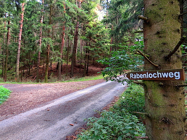 Richtung Rabenloch