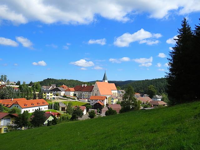 Blick auf Schönbach