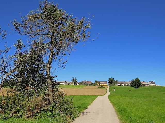 Richtung Pleßberg