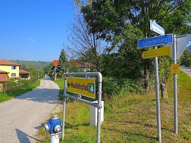 Beginn Kalvarienberg