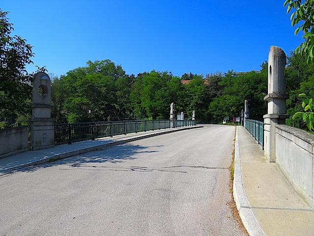 Kampbrücke Stiefern