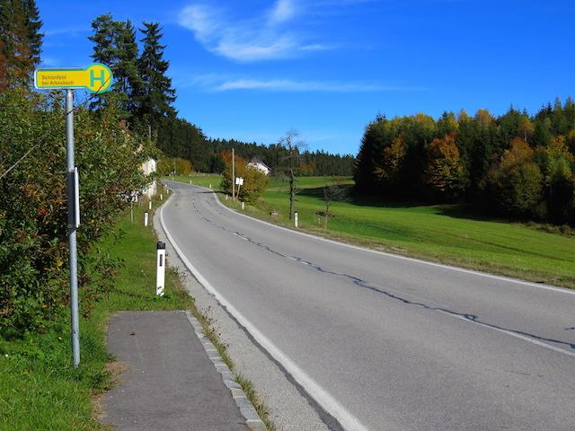 Richtung Arbesbach