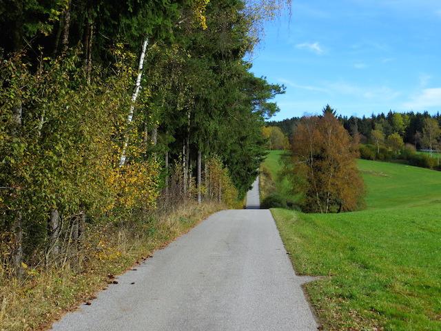 Richtung Rosenegg