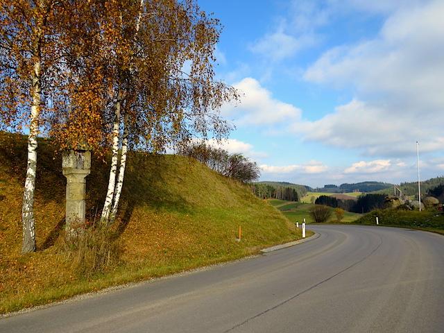 Straße bei Arbesbach