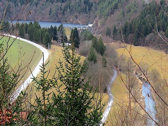 Stausee Thurnberg