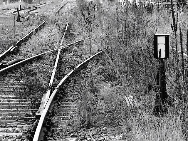 Alte Schienen