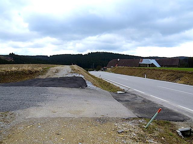 Richtung Hundsbach