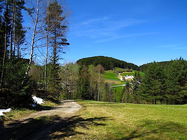 Richtung Brunnmühle