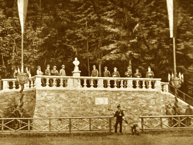 ehemalige Kaiserbüste