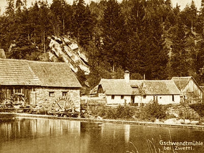 ehemalige Gschwendtmühle