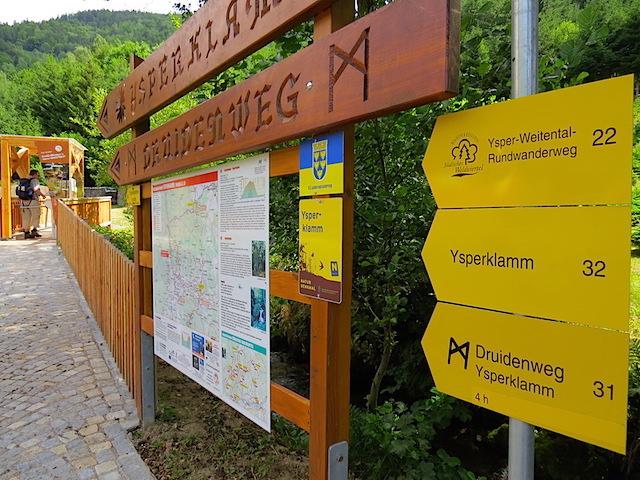 Eingang Ysperklamm