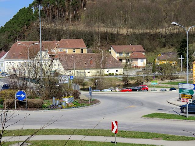 Kreisverkehr Oberhof