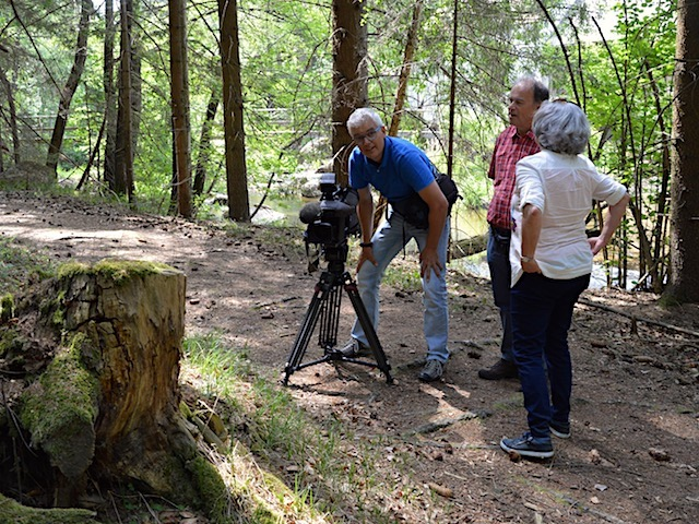ORF Dreharbeiten im Kmaptal