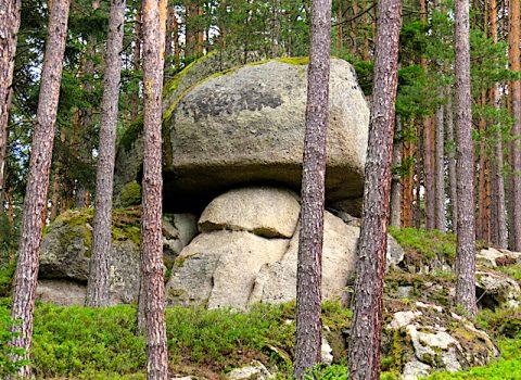 Großer Bärentrail Sidestep Felsengarten