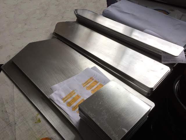 Aluminiumwegweiser