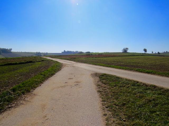 Richtung Sprögnitz