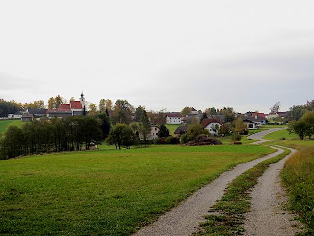 Richtung Grainbrunn