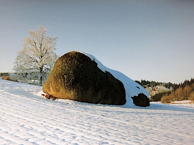 Großer Granitblock