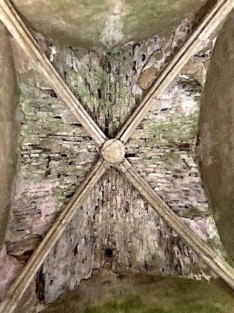 Kreuzrippengewölbe