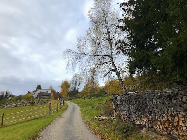Richtung Braunegg